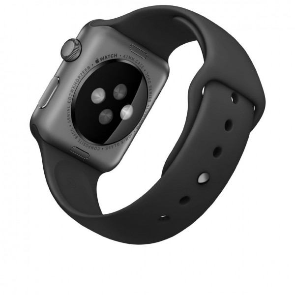 pebble steel smartwatch for select ios and android devices black 600x600 Apple Watch Sport with Space Grey Aluminum Case and Black Band