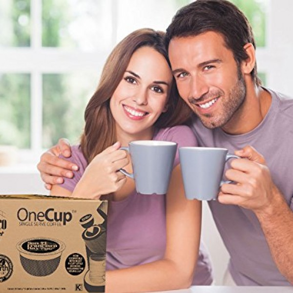 clipper organic decaf latin american instant coffee 600x600 San Francisco Bay OneCup, Fog Chaser, 80 Single Serve Coffees