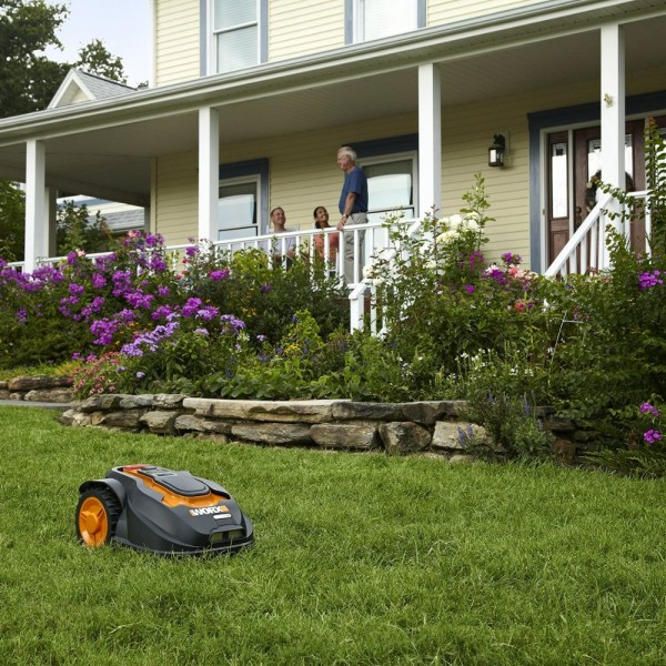 fully automatic solar powered lawn mower robot amazon target market 600x600 Get the Best of WORX Landroid Robotic Lawn Mower, 28 volt WG794 for Your Yard