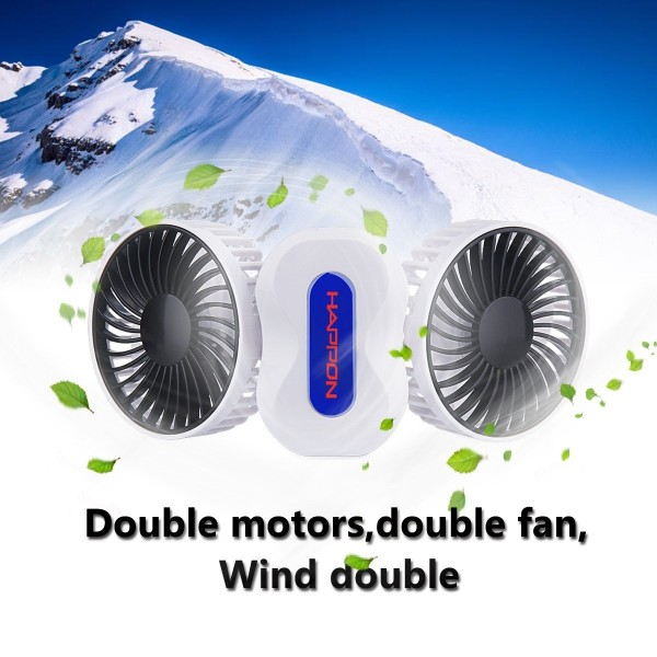 bladeless fan usb battery operated portable air conditioner desk 600x600 Portable and Rechargeable Fan, Happon Couples Mini Fan USB White