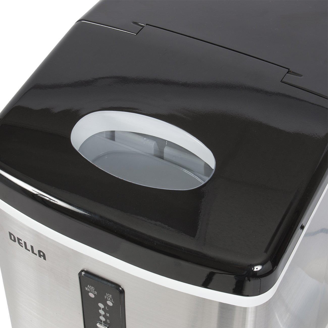 4 Make Your Summer Party Using Della Stainless Steel Ice Maker 35lb Day Portable Countertop Freestanding Icemaker Review Pricelist