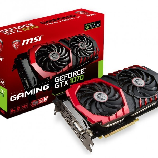MSI Gaming GeForce GTX 1070 8GB GDDR5 DirectX 12 VR Review: A Sort of Better Performance