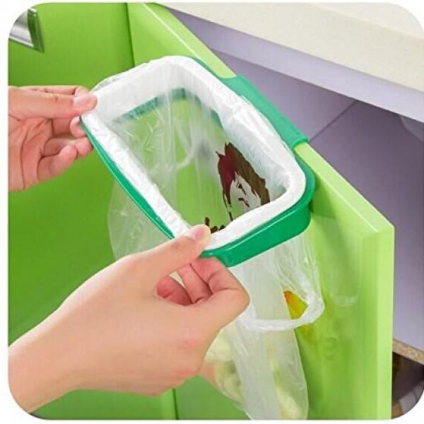 handi hanger trash bag holder under sink 600x600 Drhob 1pcs Bag Plastic Bracket