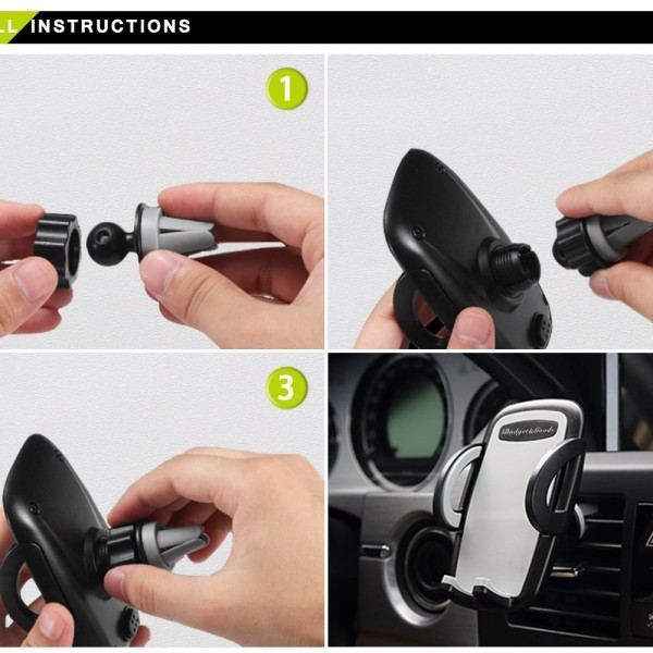car air vent phone holder review dock charger stand mount 600x600 Good product with great value!